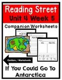 Kindergarten. If You Could Go To Antarctica. Unit 4 Week 5 Reading Street