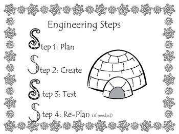 Kindergarten Igloo STEM challenge