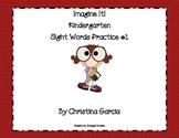 Kindergarten Imagine It! - Sight Word Practice #1: Rainbow