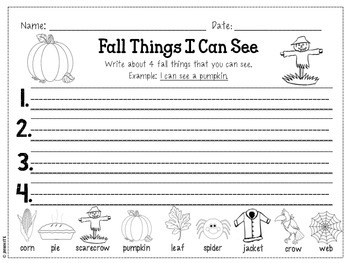 Kindergarten Independant Writing