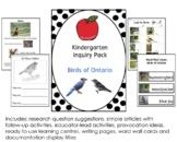 Kindergarten Inquiry Pack: Birds of Ontario - Ontario Birds