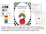 Kindergarten Inquiry Pack: Colours