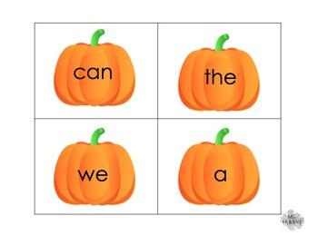 Kindergarten Integrated Pumpkin Unit