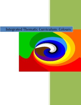 Kindergarten Integrated Thematic Colour Unit