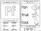 Kindergarten Interactive Alphabet Journals