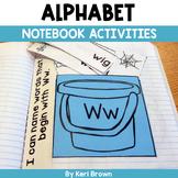 Alphabet Interactive Notebook: Sound Sort, Letter Matching, Word Work