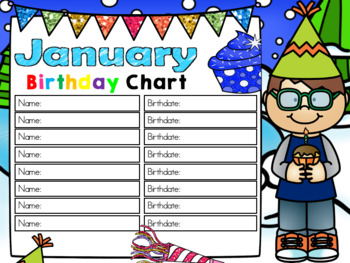 Kindergarten Interactive Calendar (JANUARY) - for Promethean Activinspire