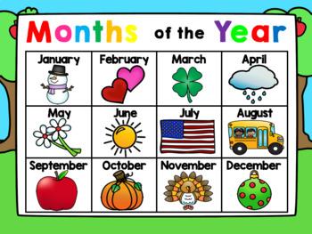 Kindergarten Interactive Calendar (SEPTEMBER) - for Promethean Activinspire