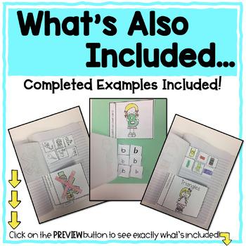 Kindergarten Interactive Flip Flap Books _BUNDLE