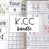 Kindergarten Math Journal - Counting and Cardinality Bundle