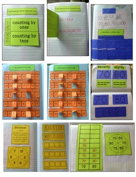 Kindergarten Interactive Math Journal {K.CC.1}