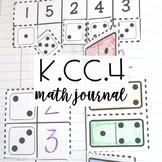Kindergarten Interactive Math Journal {K.CC.4}