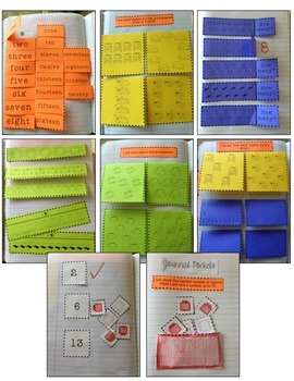 Kindergarten Interactive Math Journal {K.CC.5}