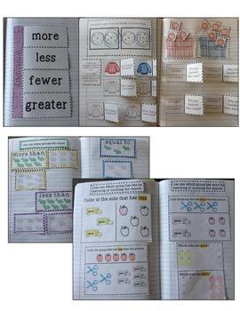 Kindergarten Interactive Math Journal {K.CC.6}