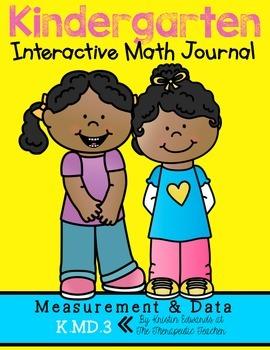 Kindergarten Interactive Math Journal {K.MD.3}