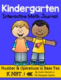 Kindergarten Interactive Math Journal {K.NBT.1}