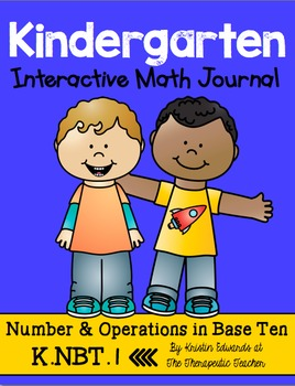 Kindergarten Interactive Math Journal {K.NBT.1}