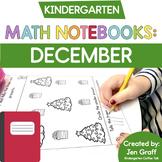 Kindergarten Interactive Math Notebook for December
