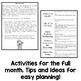 Kindergarten Interactive Math Journal for December