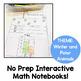 Kindergarten Interactive Math Journal for January