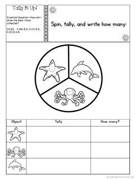 Kindergarten Interactive Math Journal for May