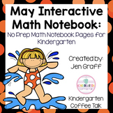 Kindergarten Interactive Math Notebook for May