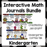 Kindergarten Interactive Math Notebooks for the Whole Year Bundle