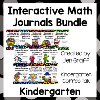 Kindergarten Interactive Math Journals: The Whole Year