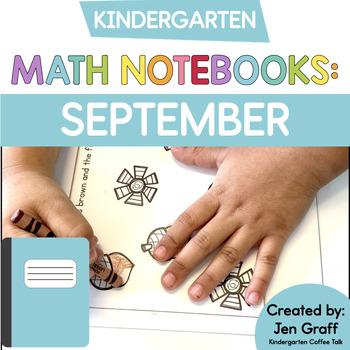 Kindergarten Interactive Math Journals for September