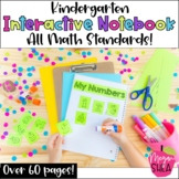 Kindergarten Interactive Math Notebook: Includes all Commo
