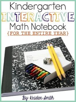 Kindergarten Interactive Math Notebook- The Entire Year!