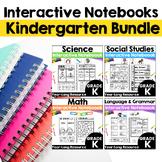 Kindergarten Interactive Notebook Bundle