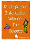 Kindergarten Interactive Notebook For October