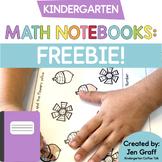 Kindergarten Interactive Math Notebook Freebie