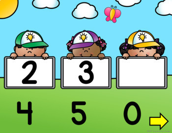Number Sequencing 1-10 {Interactive Game}