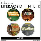 Kindergarten Interactive Read Aloud Bundle - April - The L