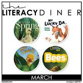 Kindergarten Interactive Read Aloud Bundle - March - The L