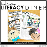 Kindergarten Interactive Read Aloud: Kevin Knows the Rules - The Literacy Diner