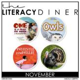 Kindergarten Interactive Read Aloud - November Bundle - Th