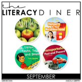 Kindergarten Interactive Read Aloud: September Bundle - Th