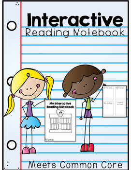 Common Core Interactive Reading Notebook!