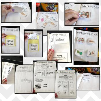 Interactive Science Notebook for Kindergarten