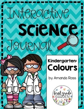 Kindergarten Interactive Science Journal: Colours {Editable}