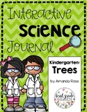 Kindergarten Interactive Science Journal: Trees {Editable}