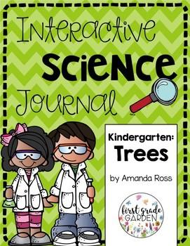 Kindergarten Interactive Science Journal: Trees {Editable}