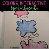 Interactive Notebook: Colors Unit, Activities