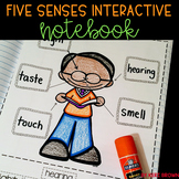 Five Senses Activities Unit: Interactive Notebook