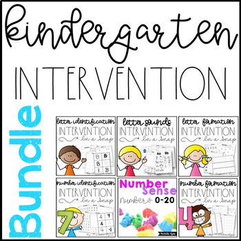 Kindergarten Intervention Bundle