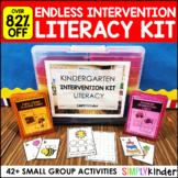 Kindergarten Intervention Kit - Endless Literacy