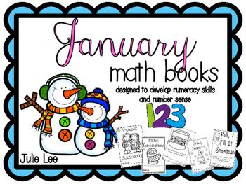 Kindergarten January Math Books Number Sense